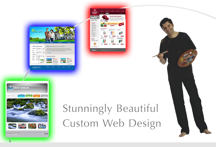 Stunning Beautify Customer Web Site Design