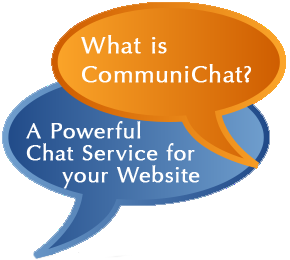 CommuniChat is a realtime chat service for website operators